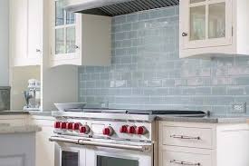 light blue kitchen backsplash glazed blue kitchen backsplash tiles design ideas tile 6