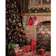 christmas great room printed backdrop backdrop express