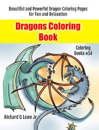 dragons coloring book the writing king ghostwriter blogger