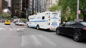 counter terrorism bureau nypd counter terrorism bureau mobile command center mobilized in