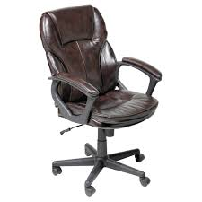 Modern Leather Office Chairs Office Chair Pleasurable Inspiration Serta Leather Office Chair