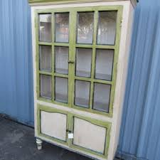 wood and glass door cabinet nadeau houston