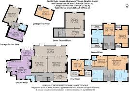 A380 Floor Plan by 5 Bedroom Detached House For Sale In Highweek Village Newton