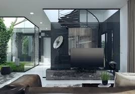 House Design Glass Modern by 3 Natural Interior Concepts With Floor To Ceiling Windows