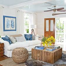 Coastal Cottage Living Rooms by Layering Rugs In Living Room Tuvalu Home