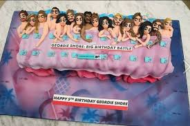 washington woman creates cake for geordie shore u0027s fifth birthday