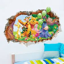 popular pooh wall stickers for kids rooms buy cheap pooh wall
