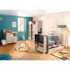 chambre bébé galipette pack trio alpa lit bébé armoire et commode galipette