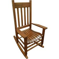 Rocking Chair Teak Wood Rocking Shop Garden Treasures Natural Patio Rocking Chair At Lowes Com