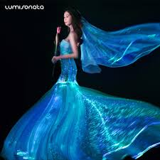 zac posen light up gown yq 112 2017 new light up dress gala dresses fiber optic dress