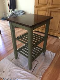 diy make a kitchen island from an ikea cart awesome