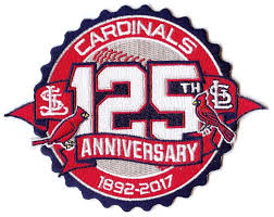 st louis cardinals national league mlb patches