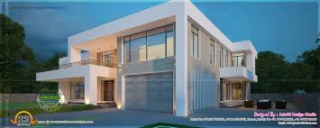 New Contemporary Home Designs In Kerala New Modern Villa Exterior Kerala Home Design And Floor Plans