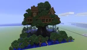 Minecraft Tree Houses  Things for Scott  Minecraft Minecraft tree