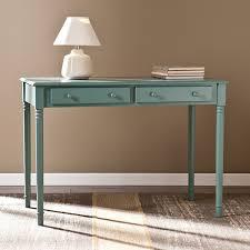 southern enterprises writing desk amazon com southern enterprises janice 2 drawer writing desk in