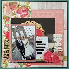 wedding scrapbook ideas 547 best scrapbook layouts wedding images on