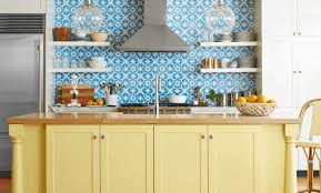 duck egg blue for kitchen cupboards 15 colorful kitchen ideas that you ll wanna copy kate