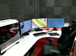 Ikea Gaming Desk L Shaped Computer Desk Ikea Black L Desk Large Size Of Corner L