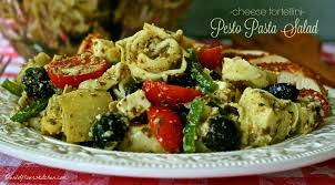 cheese tortellini pesto pasta salad wildflour u0027s cottage kitchen