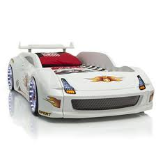 lamborghini children s car lamborghini childrens racing car bed white with led lights carbed