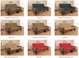 773 00 washington futon frame in rustic walnut finish with futon