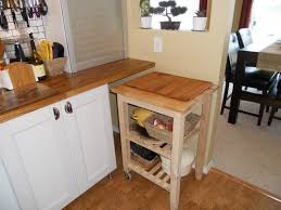 Counter Space Small Kitchen Storage Ideas Floating Counter With A Space For The Kitchen Cart Genius