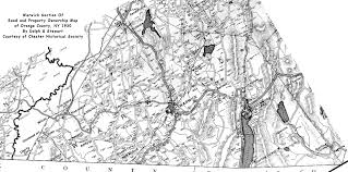 Map Of Warren County Nj Warwick Valley History
