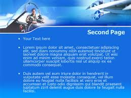 air force powerpoint template backgrounds 00108
