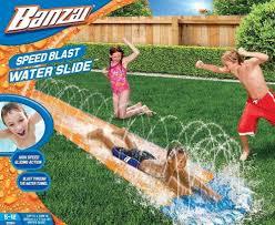 amazon com spring u0026 summer toys banzai 16ft long speed blast