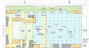 oaklandcivic first floor plan