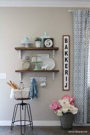 Dining Room Shelves Farmhouse Chic Dining Room Shelves Lolly