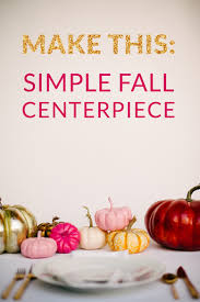 how to non floral centerpiece for fall a practical wedding