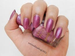 cute nails barry m chameleon colour changing nail effects pink