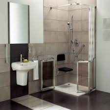 Disabled Half Height Shower Doors Level Access Showers And Accessible Showering