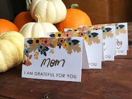 free printable thanksgiving place cards print