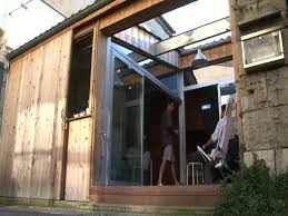 garage living space maison garage old parking as tiny home in bordeaux france youtube