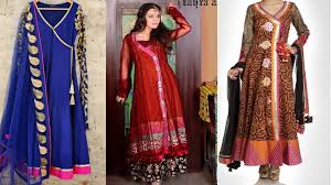 latest angrakha style dresses designs collection 2017 2018