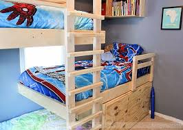 Building Plans For Triple Bunk Beds by 19 Best For The Home Images On Pinterest Home Room And Living