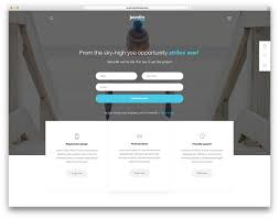 Free Homepage For Website Design 17 Best Wordpress Themes For Static Websites And Sales Pages For