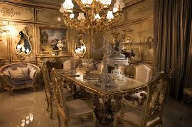 luxury dining room luxurious dining room ideas with classic cabinet and dining table