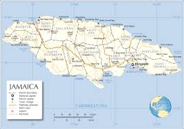 Map Of The Caribbean Sea by Jamaica Map Map Of Jamaica Jamaica Map In English
