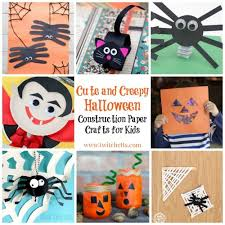 Crafts For Kids For Halloween - halloween construction paper crafts 20 cute and creepy crafts