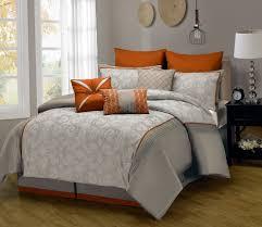 Burnt Orange Comforter King Orange Comforter Set King Home Design Ideas