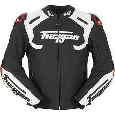 furygan akira leather motorcycle jacket waterproof motorbike ce