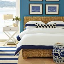 Williams Sonoma Bedding Color Scheme For Coastal Bedrooms