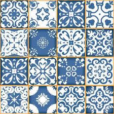blue moroccan wallpaper kargo