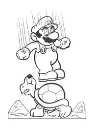 super mario brothers coloring coloring pages