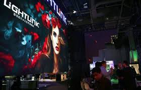 Int by People Visit Live Design Int U0027l Show In Las Vegas Xinhua