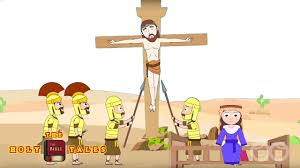 jesus is crucified i stories of jesus i animated children u0027s bible