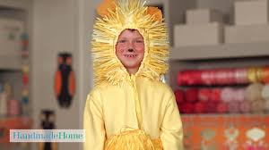 kids lion costume handmade home martha stewart youtube